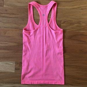 lululemon athletica Tops - Lululemon Swiftly Speed Racerback, Neon Pink